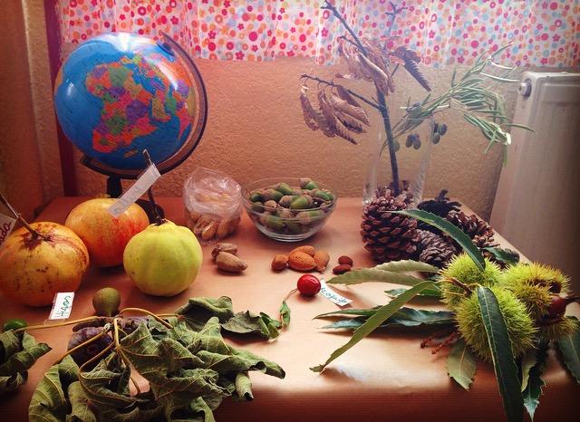Nuestra mesa de estación: el otoño